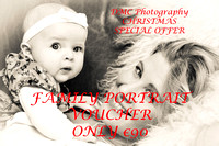 Christmas Special Family Portrait Voucher €90
